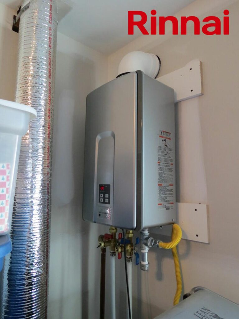 Rinnai RUR199In Installed